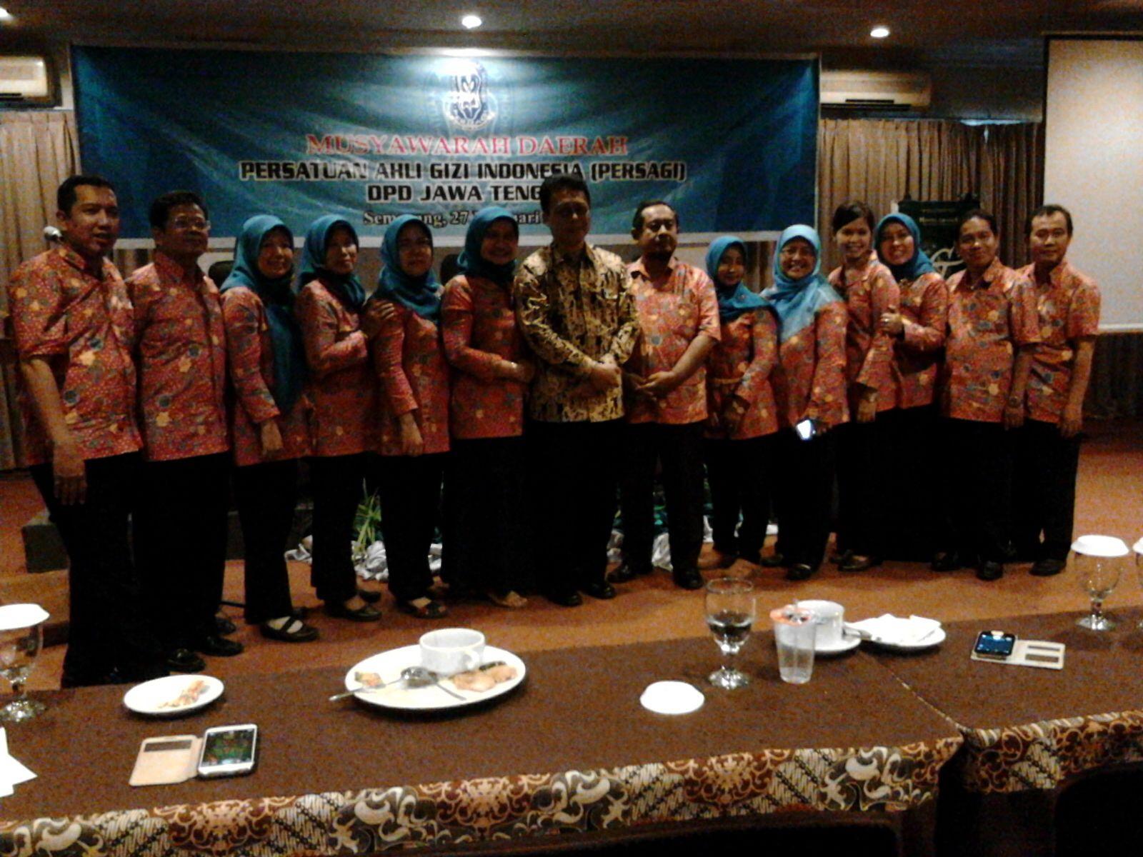 Musyawarah Daerah DPD PERSAGI Jawa Tengah